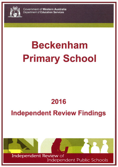 Beckenham Primary School Independent Review Findings 2016