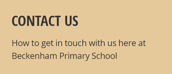 How To Contact Beckenham Beckenham Primary School