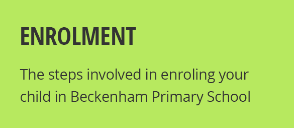 How To Enrol Your Child in Beckenham Primary School