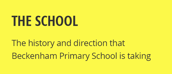 About Beckenham Primary School