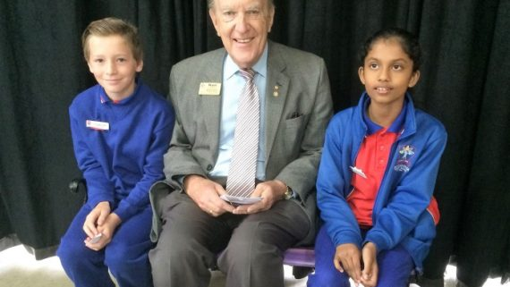 Buddy Bench delivered to Beckenham PS
