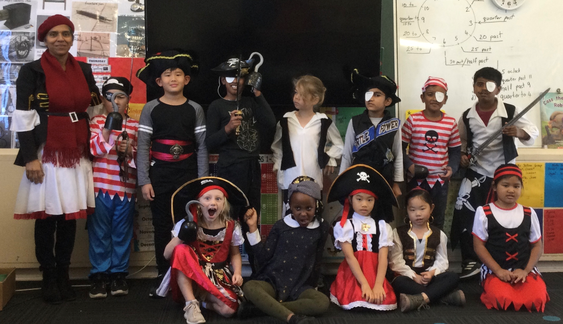 Shiver me timbers! Its Pirate Day at BPS